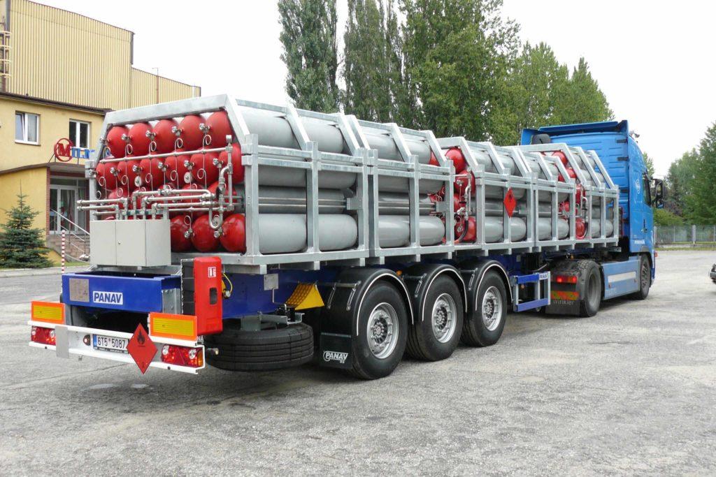 транспорт на газови бутилки