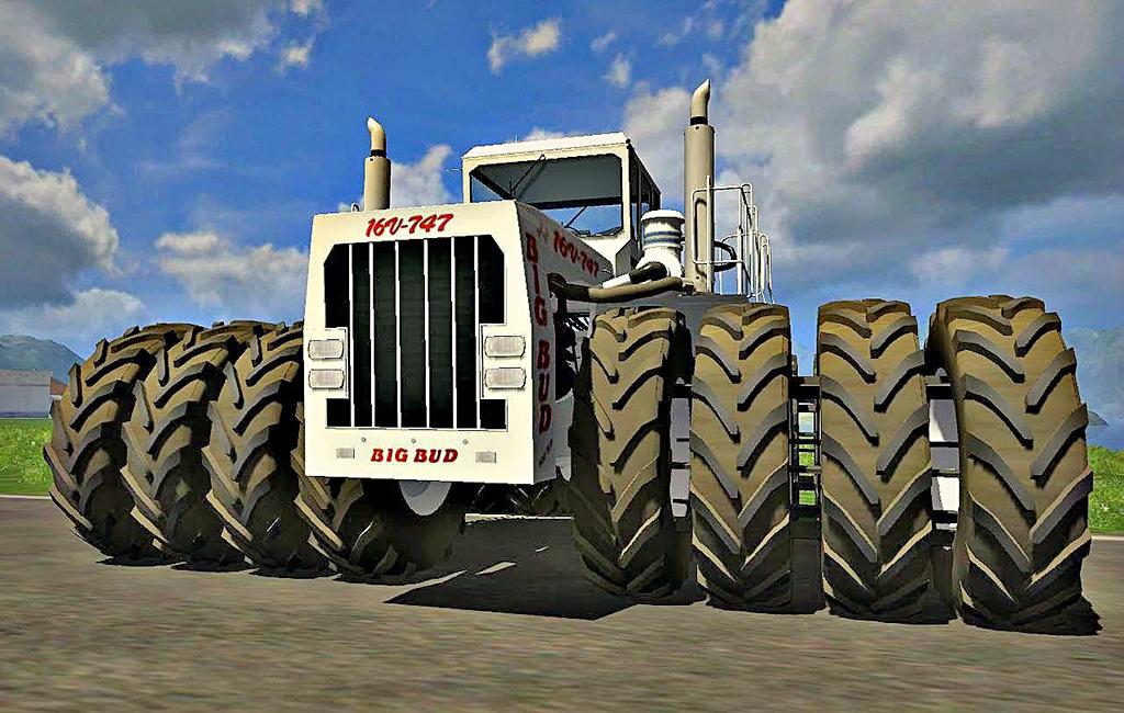 най-големият трактор в света