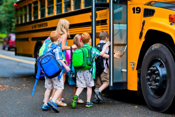 особености при превоз на деца