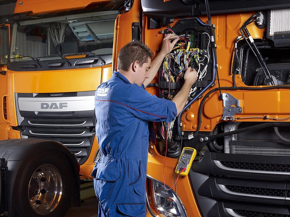 поддръжка на камиони