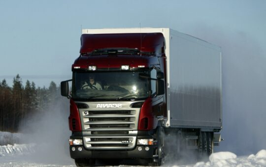 транспортиране през зимата