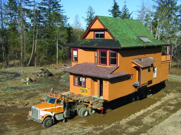 транспорт на къщи
