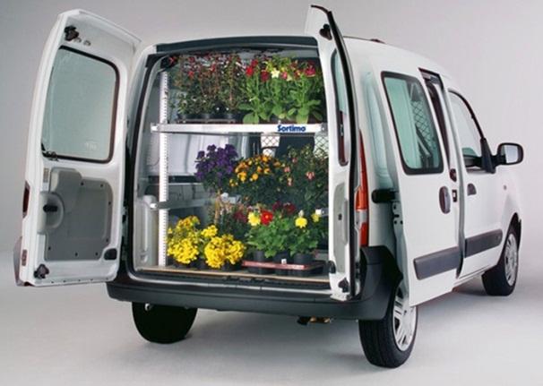 транспорт на цветя