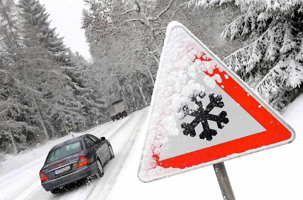 шофиране през зимата