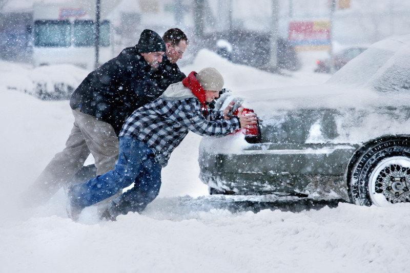 Автомобилът през зимата
